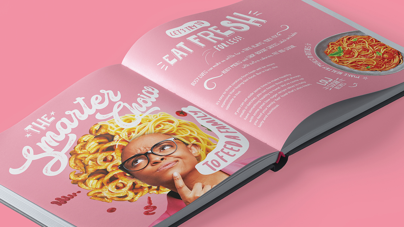 SISE 7 food book spread a