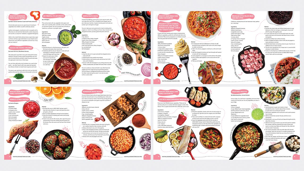 SISE 9 food book spread c