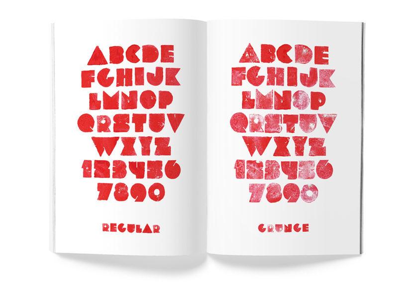 Veggie font sample 6